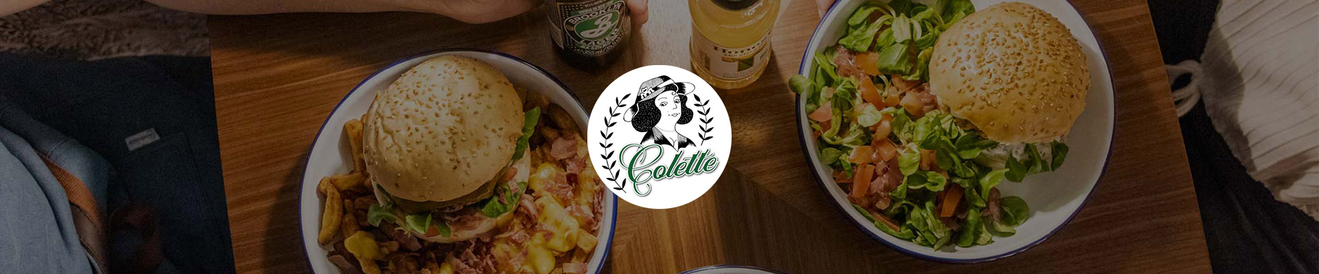 Les burgers de Colette Dewey